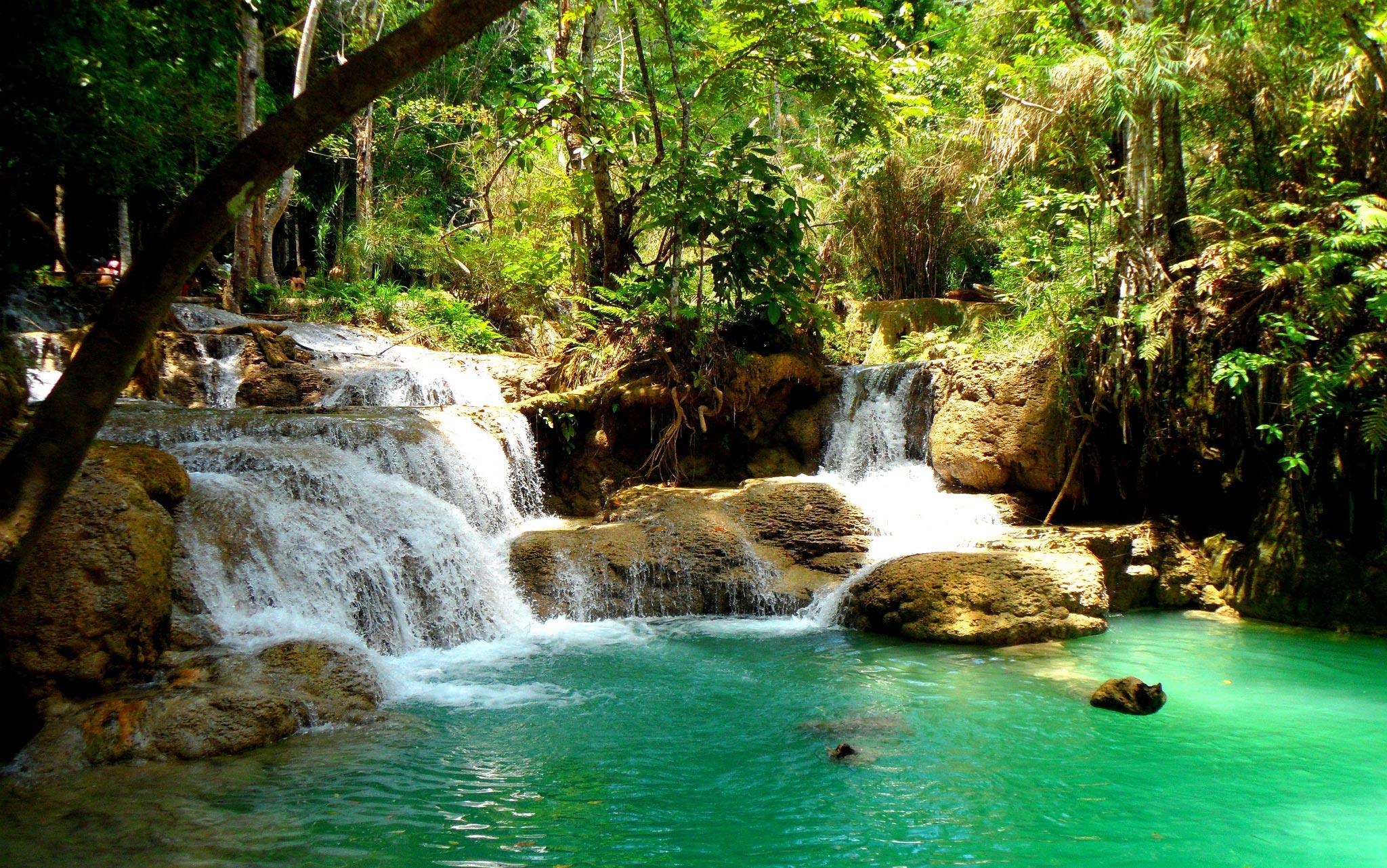 Natuurlijke zwembaden