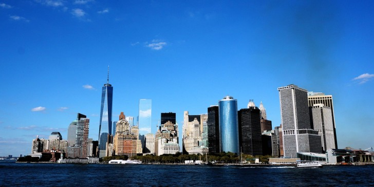 skyline new-york nyc