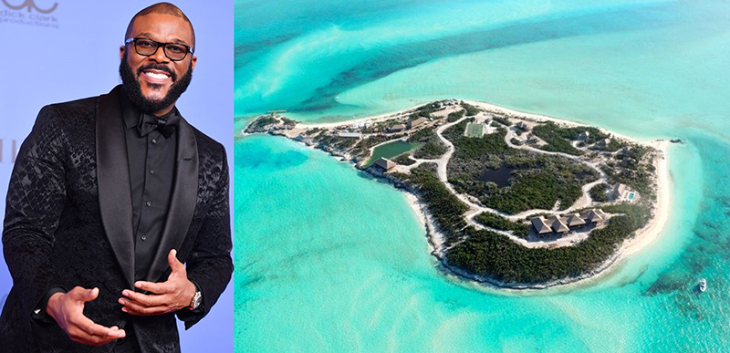 Tyler Perry And White Bay Cay